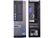 **DELL OPTIPLEX 390 CORE I3 DESKTOP PC 3.1GHZ 8GB 3000GB HDMI WIN 7 PRO WIFI