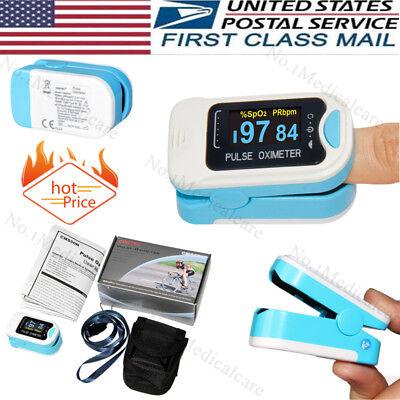 Fda Finger Tip Pulse Oximeter Blood Oxygen Meter Spo2 Heart Rate Monitor Contec