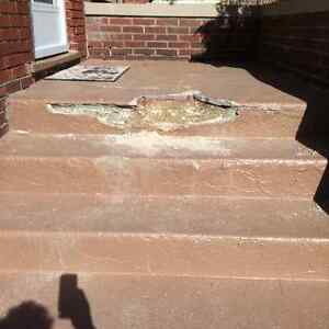 Porches and concrete steps  repairs Windsor Region Ontario image 1