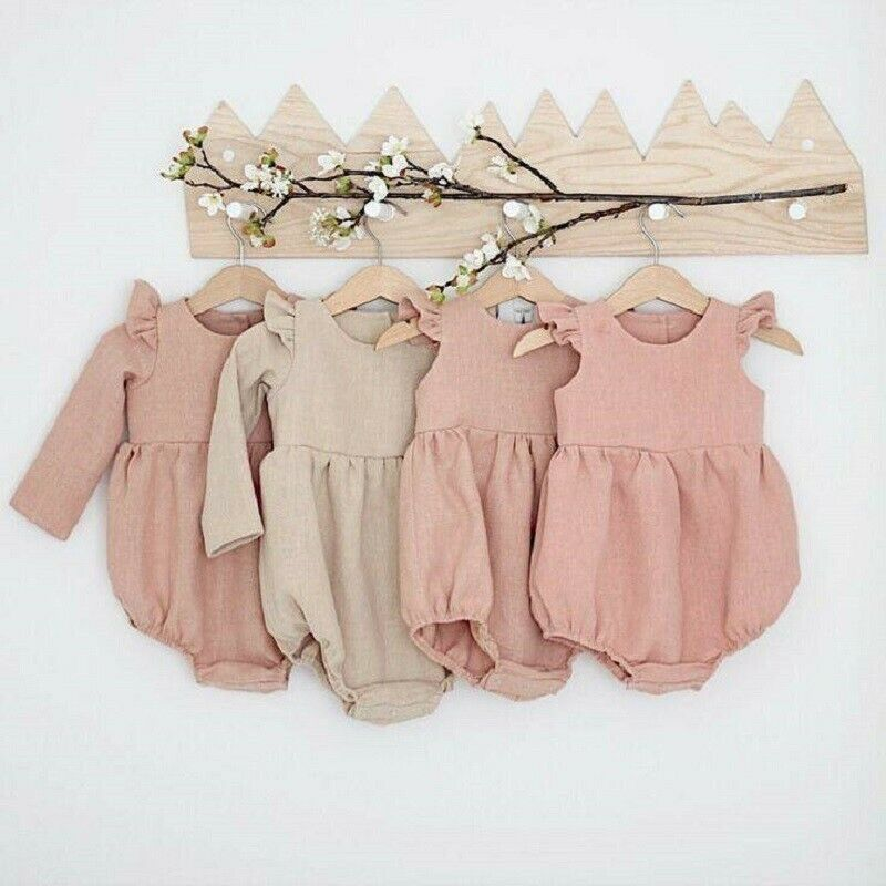 Autumn Baby Girl Clothes Cotton Long Sleeve Baby Romper For