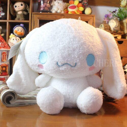 30CM Big White Cinnamoroll Plush Toys Stuffed Animal Soft Doll