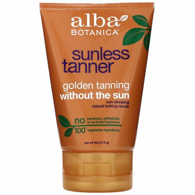Alba Botanica, Sunless Tanner, 4 oz
