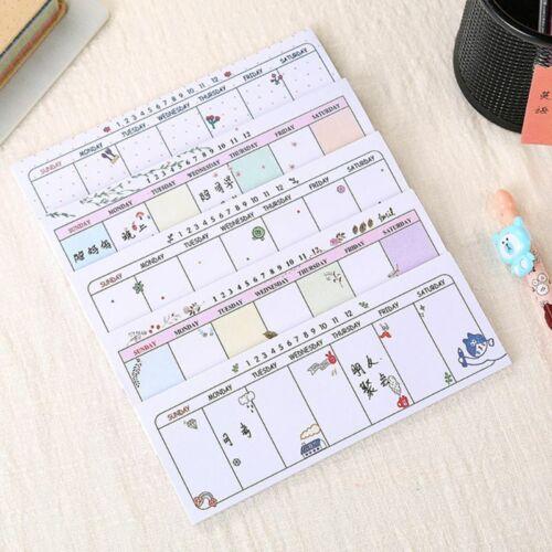 Weekly Planner Agenda Material Escolar Caderno School Papele