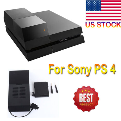 PS4 Data Bank Playstation 4 Extra Storage Case Gaming Dock for 2TB Hard Drive MA