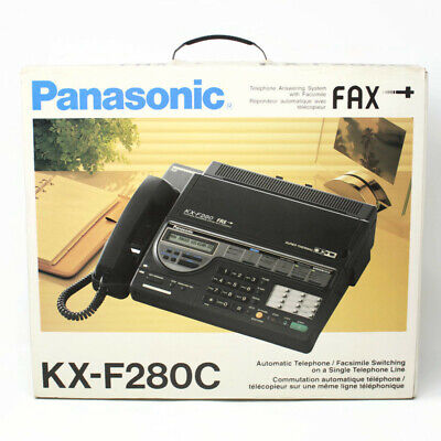 🔴 Panasonic Telephone Answering System Fax Machine KX-F280C READ DESCRIPTION, usado segunda mano  Embacar hacia Argentina