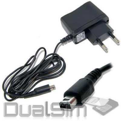 Netzteil Ladekabel Ladegerät für Nintendo DSi DSi XL 2DS und 3DS schwarz Adapter