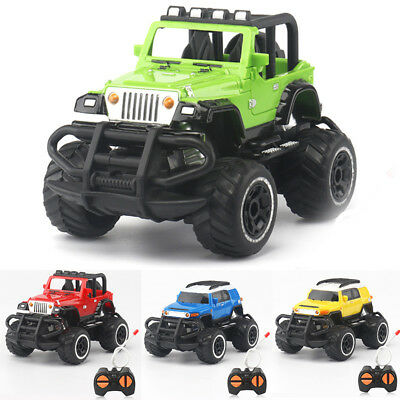 4CH Mini RC Truck Kids Toys Remote Control Off-Road Jeep Model Toy Car Xmas Gift
