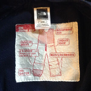 The North Face Kids Full Snow Pants size 4 London Ontario image 2