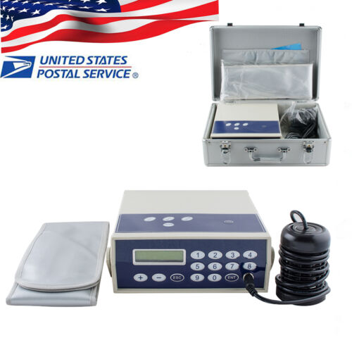 【USA STOCK】 DETOX MACHINE CELL ION IONIC FOOT BATH SPA CLEANSE FAR BELT KIT