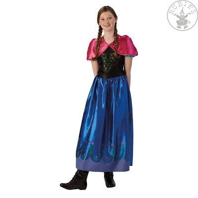 Rubies 3620978 - Anna Frozen Classic Kleid, 9-14 J* Disney Prinzessin EISKÖNIGIN