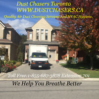 Best Air Duct Cleaning Services in GTA, Feb Promotion on Now!