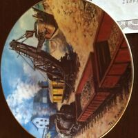 COLLECTOR PLATE - LADY JANE PORCELAIN