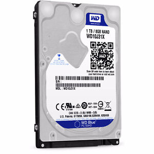 WD SSHD 1To/8Go (Ideal pour ugrade PS4)