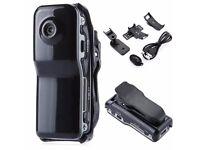 Mini Sport DV Cam Hidden Spy Security Camera Video Recorder Pinhole Gadget MD80