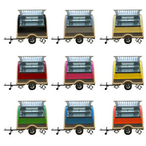 Stainless Steel Mobile Concession Food Trailer Cateing Trailer F