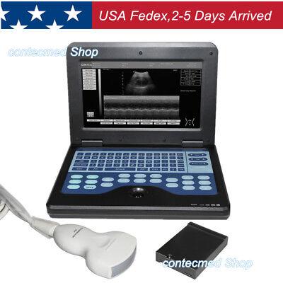 Contec Full Digital B-ultrasound Diagnostic System3.5m Convex Probe Newest Usa