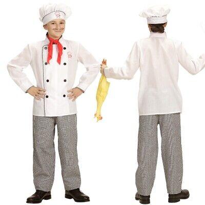 KOCH Kinder Kostüm Chefkoch Kleinkind - Karneval Fasching Größe 104 - - Koch Kostüm Kinder