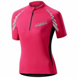 Altura night vision cycling jersey size 14