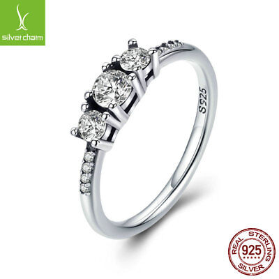 European 925 sterling silver Fairytale Sparkle Rings for Women Valentine's Day - Rings For Valentine's Day