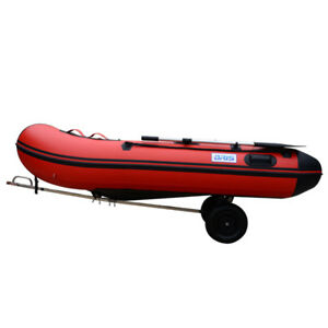 Boat Launching Trailer Wheels Hand Dolly Small  Inflatable Boat