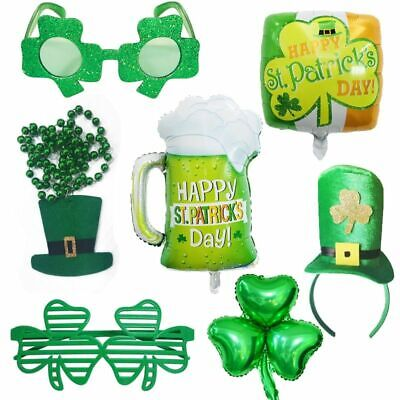 St Patricks Day Decoration Supplies Green Happy Irish Fashion Party Accessories