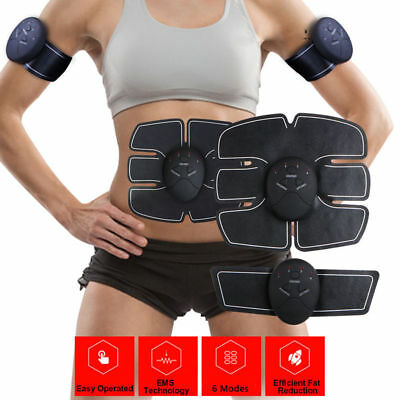 Magic EMS Muscle Training Gear ABS Trainer Fit Body Home Exercise Shape (Magic Shapes)