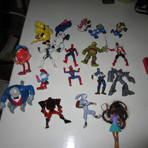 figurines diverses TMNT gi joe star wars power rangers PARTIE 1