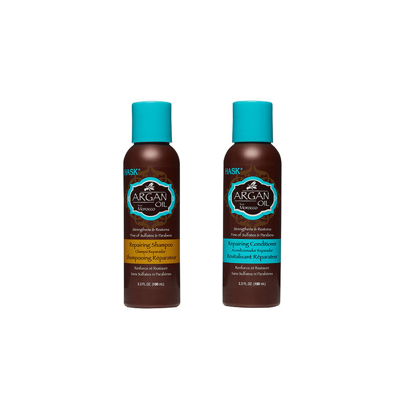HASK Monoi Coconut Oil Nourishing Shampoo & Conditioner Set