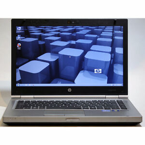HP EliteBook 8470p Laptop i5 WiFi Webcam DVDRW 4GB RAM 320GB 14""