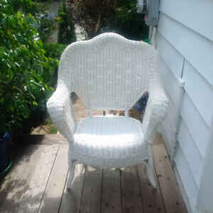 Wicker King Chair. Only $20