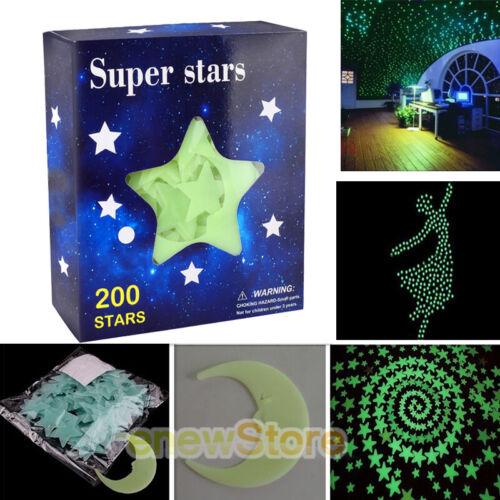 ultra glow in the dark stars 200