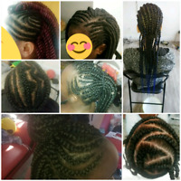 Coiffeuse tresses africaine
