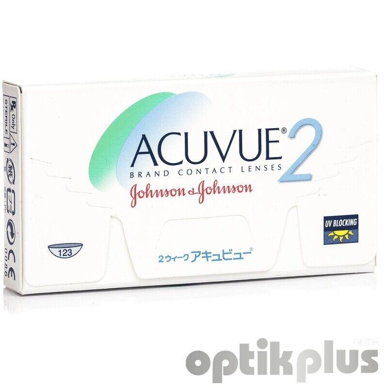 Acuvue 2 - 2-Wochenlinse von Johnson+Johnson - 6er-Pack [9590]