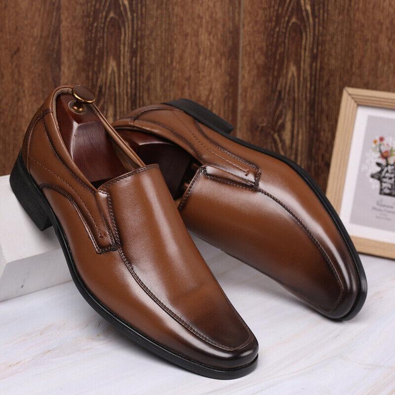 Details zu Herren Business Schuhe Leder Klassische Abend Anzug Halbschuhe Lederschuhe 39 47