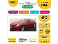 Mercedes-Benz SLK200 FROM £84 PER WEEK!