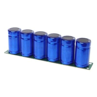 6 Pcs Farad Capacitor 2.7v 500f Super Capacitance With Protection Board1 Set