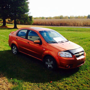 2007 Chevrolet Aveo Berline lt