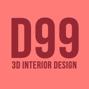 3D Rendering Interior Designer Services - $99 / Room Interior Design Decorator Renovation