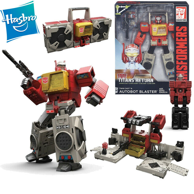 Transformers Titans Return Leader Blaster Action Figure