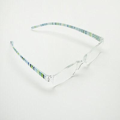 Mode Lesebrille Augen Brille Lesehilfe Sehhilfe Randlos15225335 C9U2