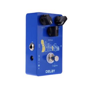 Blue Ocean Delay Guitar Effect Pedal