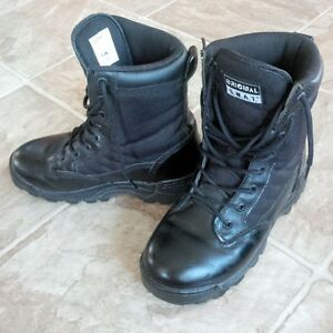 Used Military-Style S.W.A.T. Boots - Black - Size 6