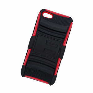VIBE Heavy Duty Swivel Holster Case, Retail Packaging, Red