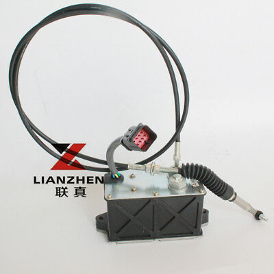 Lianzhen Excavator Accelerator Motor Governor Assy For Cat 386-3439 E320d2 Parts