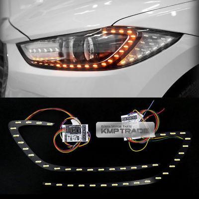 AVANTE HD Front 2Way Turn Signal Module DIY Kit 2p For 07-10 Hyundai Elantra