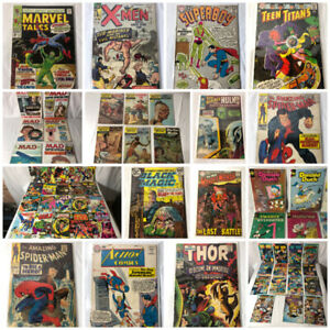 Tons Of Comic Books