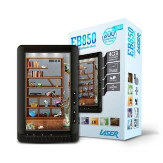 "Laser eBook Reader - EB850 7"" Colour multimedia eBook"