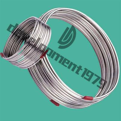 New 2m 304 Flexible Hose Stainless Steel Diameter 3mmtrachea Gas Liquid Tub