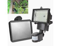 Brand New Solar Powered 60 LED PIR Motion Sensor Security Flood Light Garden Outdoor Use