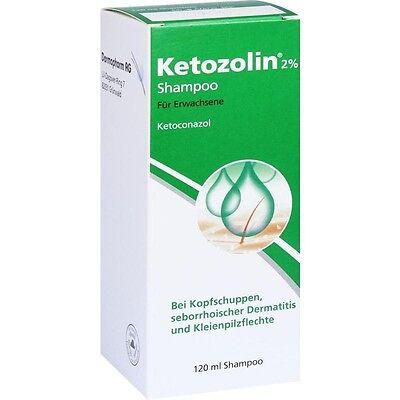 KETOZOLIN 2% Shampoo 120 ml PZN2837759